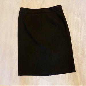 LOFT Petites Black Pencil Skirt sz. 4P